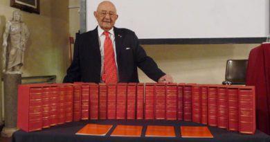 Prof. Alberto Fidanza e i suoi testi universitari