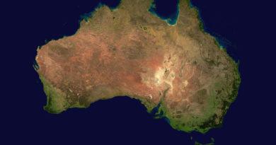 Water Essence australiana e luoghi geografici