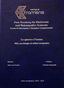 Le querce e l'uomo: miti, morfologia ed utilizzi terapeutici