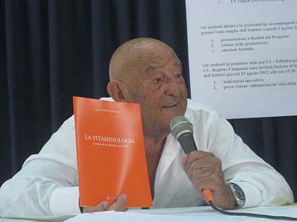 50 Anni della Vitaminologia con il Prof. Alberto Fidanza