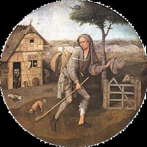 Hieronymus Bosch - Il Figliuol Prodigo (1501)