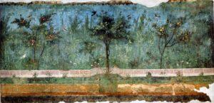 Affreschi villa di Livia Drusilla